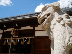 八尾市の渋川神社