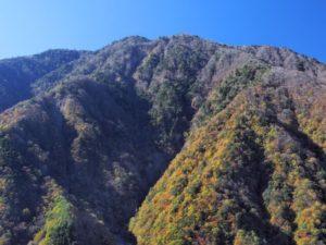 早川町の七面山
