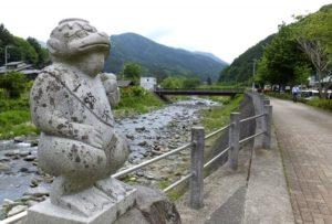 道志村のかっぱ橋