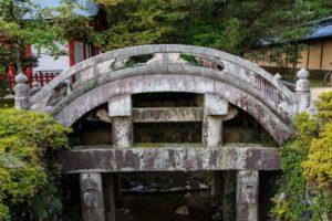 垂井町南宮大社の石輪橋