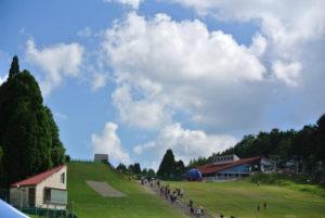 神戸市六甲山の風景
