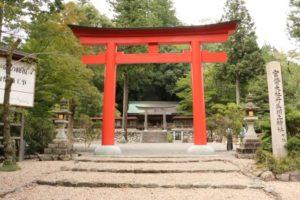 下市町の丹生川上神社下社