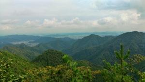 福崎町七種山からの風景