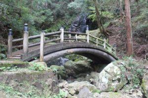 七種の滝の道中