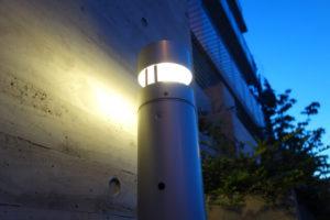 芦屋市の街路灯