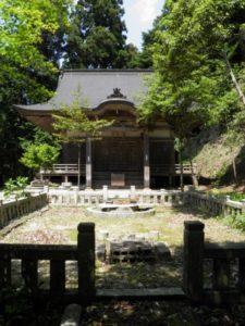 黒滝村の鳳閣寺本堂