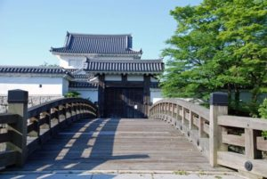 甲賀市の水口城