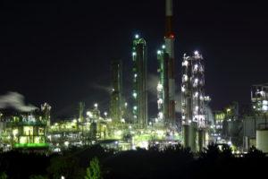 姫路市の工場夜景