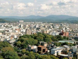 和歌山市街