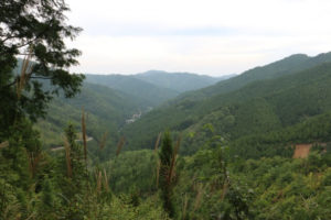 野迫川村の風景