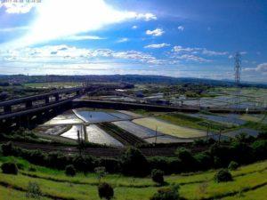 木津川市の田園風景