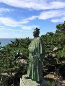 高知県坂本龍馬像
