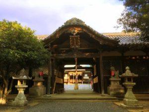 みなべ町の鹿島神社