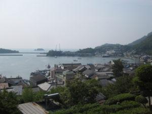 福山市鞆の浦の景色