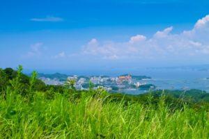 白浜町の風景