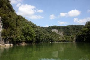 神石高原町の帝釈峡