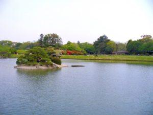 岡山市の後楽園