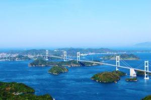 愛媛県来島海峡大橋