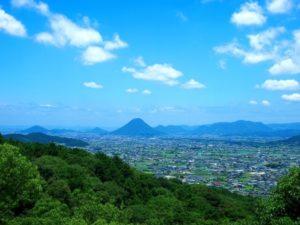 香川県金比羅山からの風景