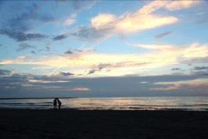 内灘町の内灘海岸