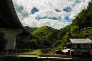 砥部町の風景