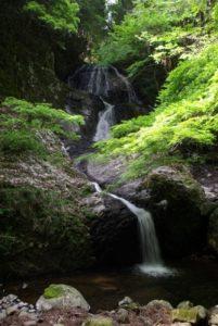 久万高原町遅越の滝