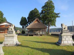 志賀町の松尾神社