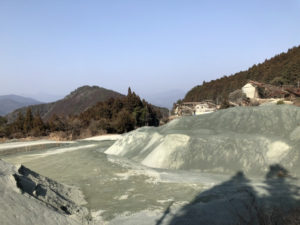 土佐町の採石場