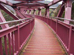 加賀市山中温泉のあやとり橋