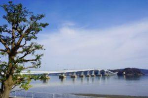 七尾市の能登島大橋