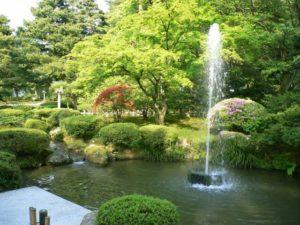 金沢市夏の兼六園