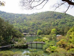 高松市の栗林公園