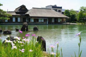 福井市の養浩館庭園