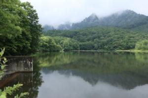 長野市の鏡池