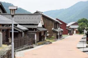 若狭町熊川宿の風景