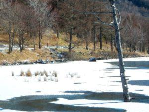 立科町の女神湖
