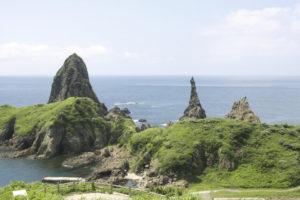 隠岐島の風景