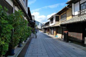 竹原市の街並