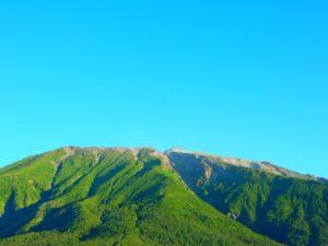 夏の御嶽山王滝村
