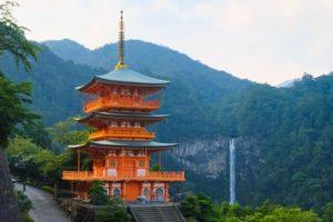 熊野那智大社三重塔