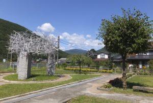 木祖村の風景