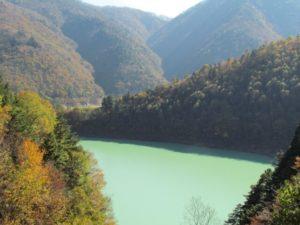 高瀬ダム湖