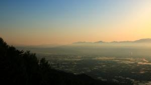 山形村の風景