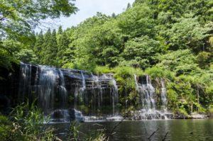 小矢部市二の滝