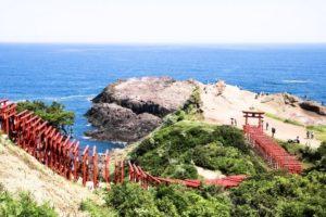 長門市の元乃隅稲成神社