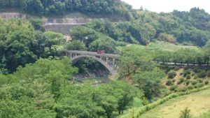 中川村の坂戸橋