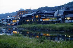 鳥取県の三朝温泉