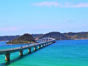 角島大橋の風景