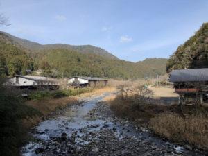 馬路村の風景