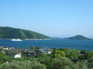 小豆島町の風景